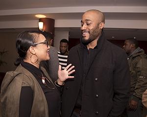 NK Abani The Rose Arts London M.A.N. Screening Natasha Rosetta Joseph Dan Fearon